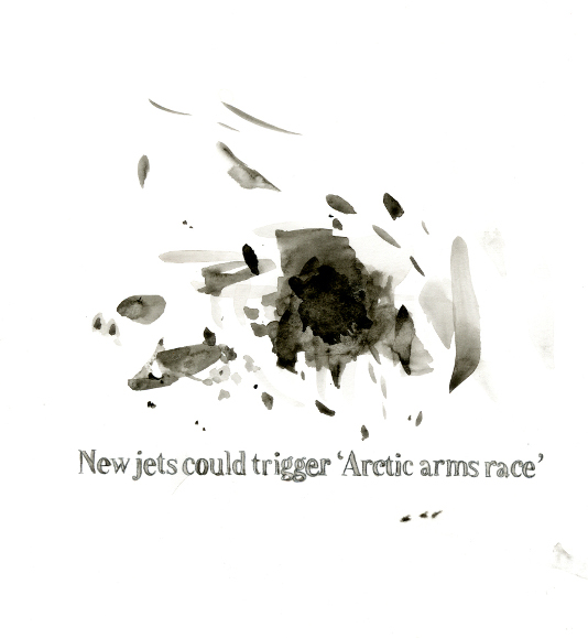 "[ ""New jets could         trigger 'Arctic arms race'"" 