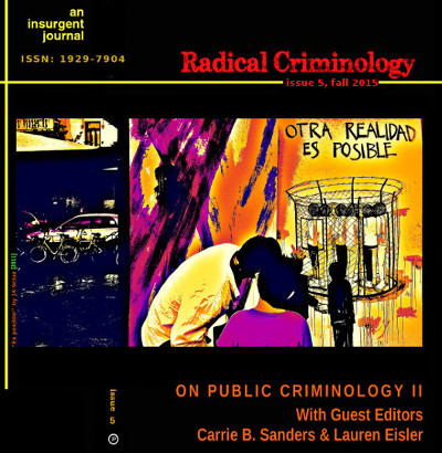 { Cover Image: Radical Criminology Issue 5 }